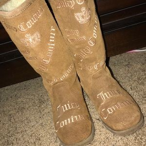 Girls size 13 Juicy Couture boots